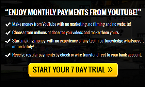 Enjoy Monthly Payments From Youtube